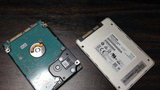 acer aspire5750 ノートパソコンをHDDからSSDに換装!ノートパソコンが爆速PCになって超快適!