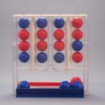 「プッシュフォー」四目並べボードゲームで気軽にワンプレイ!