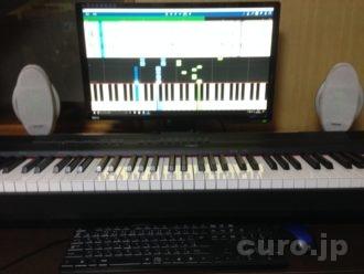 電子ピアノを使った大人のピアノの練習方法を教えます