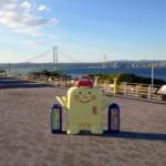 徳島旅行帰りに「明石海峡大橋」を一望できる淡路サービスエリアに立ち寄りました!