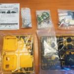 モーターライズキット:甥っ子とイーケイジャパン社の「エレキット トリプルレンジャー MR-9102」を組み立てました