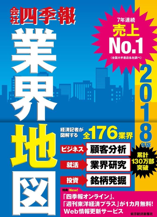 業界地図2019] 会社四季報「業界地図」で日本企業の縮図が分かる