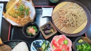 道の駅「味わいの里三日月」「そば処三日月」(兵庫県佐用町)でお蕎麦と野菜を堪能!