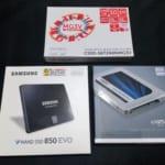 手頃なSSDを買い比べ&速度比較!してたら初期不良が発覚!からのAmazonに返品!